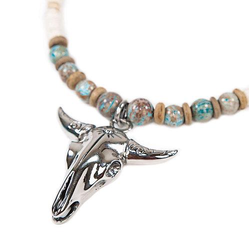 Bovine - Collar de mujer estilo Ethno y Indian Spirit