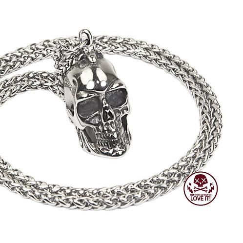 Little Skull - Stainless steel skull necklace