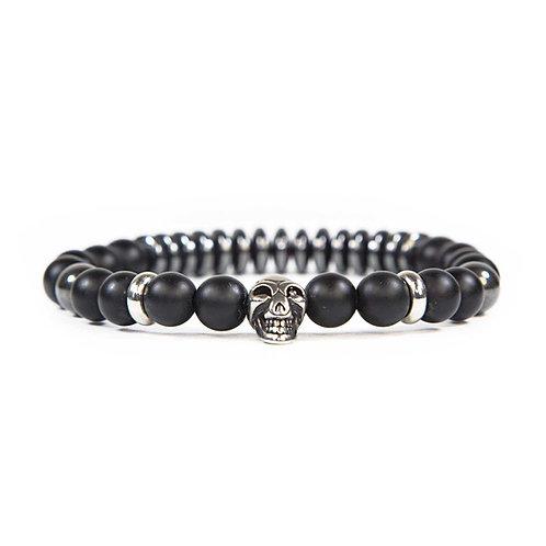 Convoy - Onyx Skull Bracelet - Combi Bracelet