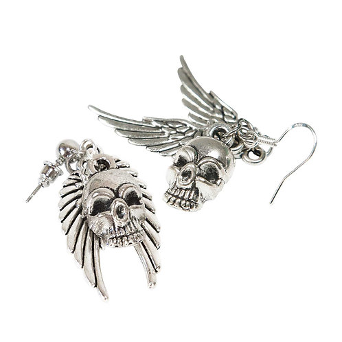 Catori - Skull Earrings