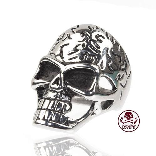 Punk VI - Skull stainless steel ring