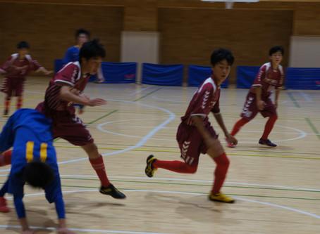 フットサル県大会が開催されました。