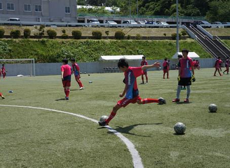 山形大学付属中学校との練習試合が行われました❗