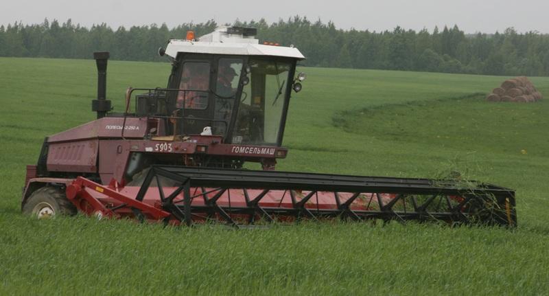 Жатки валковые зерновые