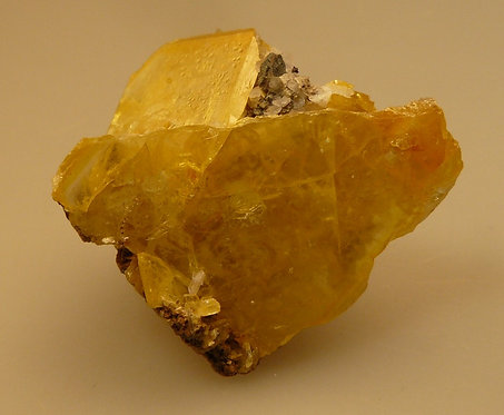 Wulfenite and Calcite