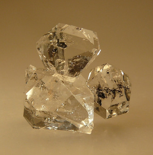 Quartz (variety Herkimer Diamond)