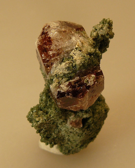 Zircon and Diopside