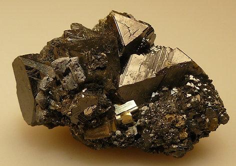 Galena, Chalcopyrite, Sphalerite, Quartz