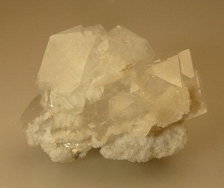 Apophyllite and Quartz