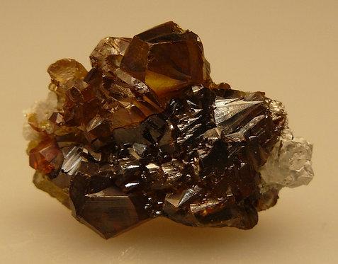 Sphalerite and Quartz