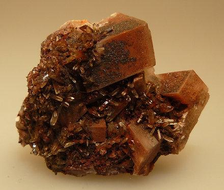 Calcite, Quartz, Hematite