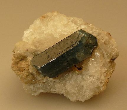 Fluorapatite in Calcite