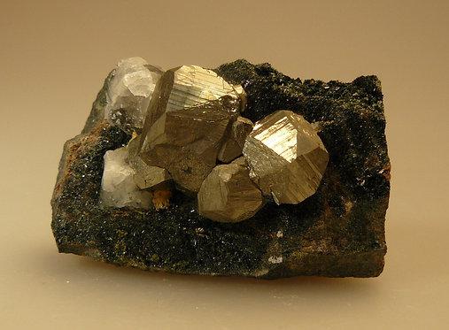 Pyrite, Calcite, Epidote