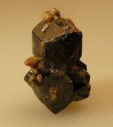 Titanite and Fluorapatite