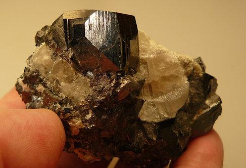 Magnetite, Halite, Calcite