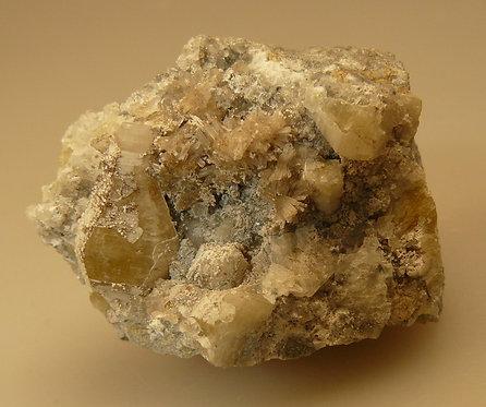 Weloganite, Franconite, Pectolite