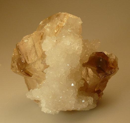 Calcite and Quartz