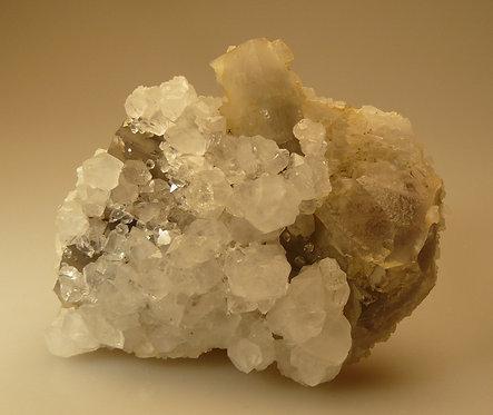 Quartz and Fluorite