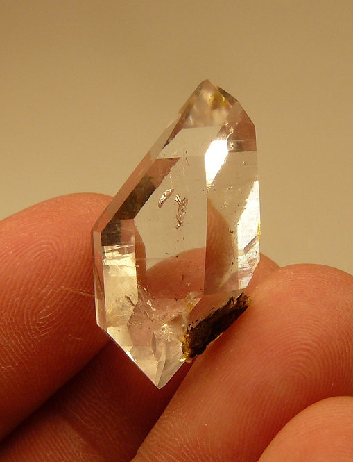 Quartz (variety Herkimer Diamond)