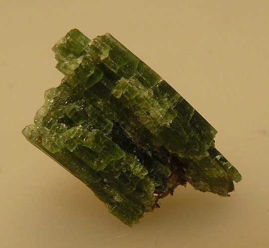 Tremolite (variety Chromium) and Phlogopite