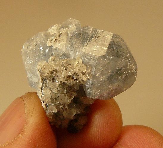 Celestine and Calcite