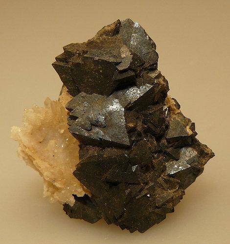 Magnetite and Quartz