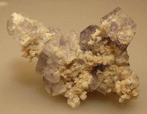 Fluorite, Dolomite, Barite