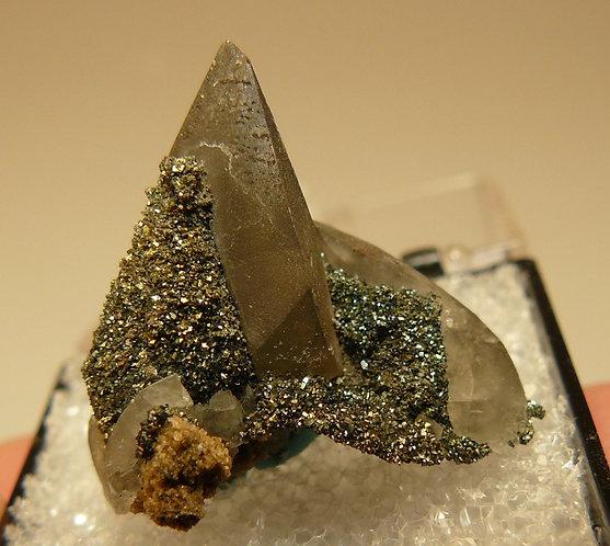 Calcite and Marcasite
