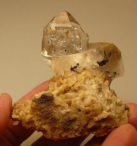 Quartz, Calcite, Dolomite
