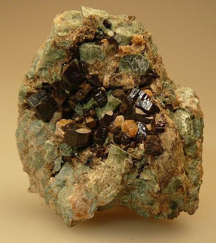 Vesuvianite, Grossular, Diopside
