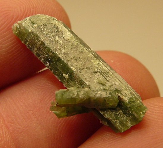 Tremolite (variety Chromium) and Talc