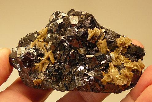Sphalerite and Siderite