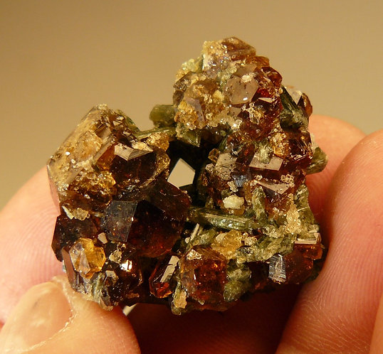 Grossular and Diopside