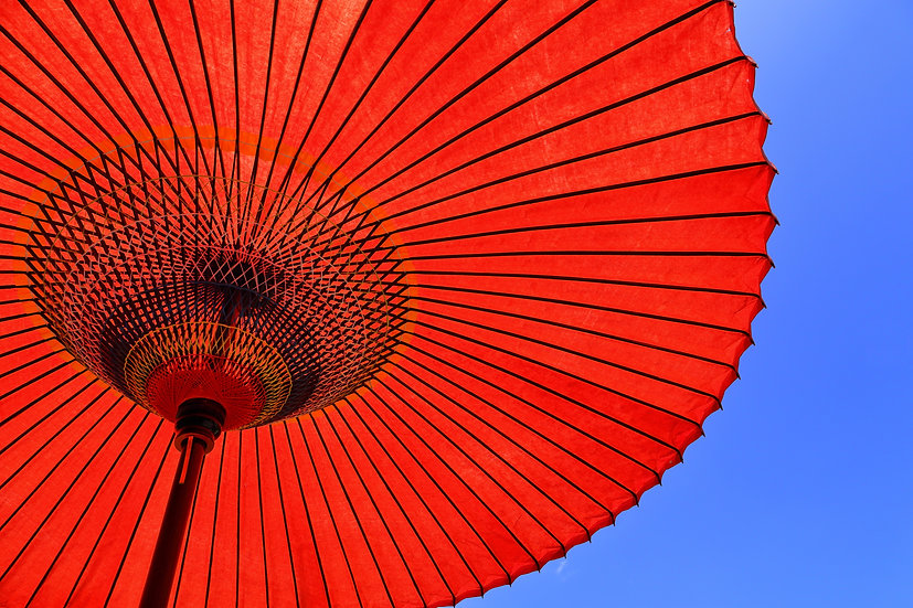 Parasol and Sky