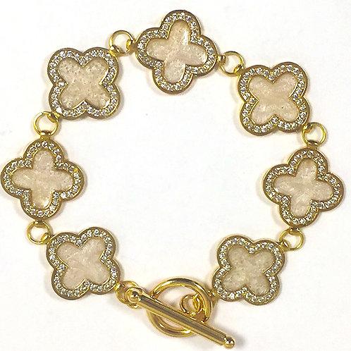 White Clover Bracelet