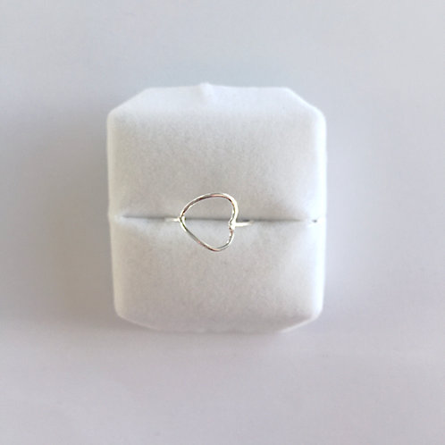 Croí Silver Ring