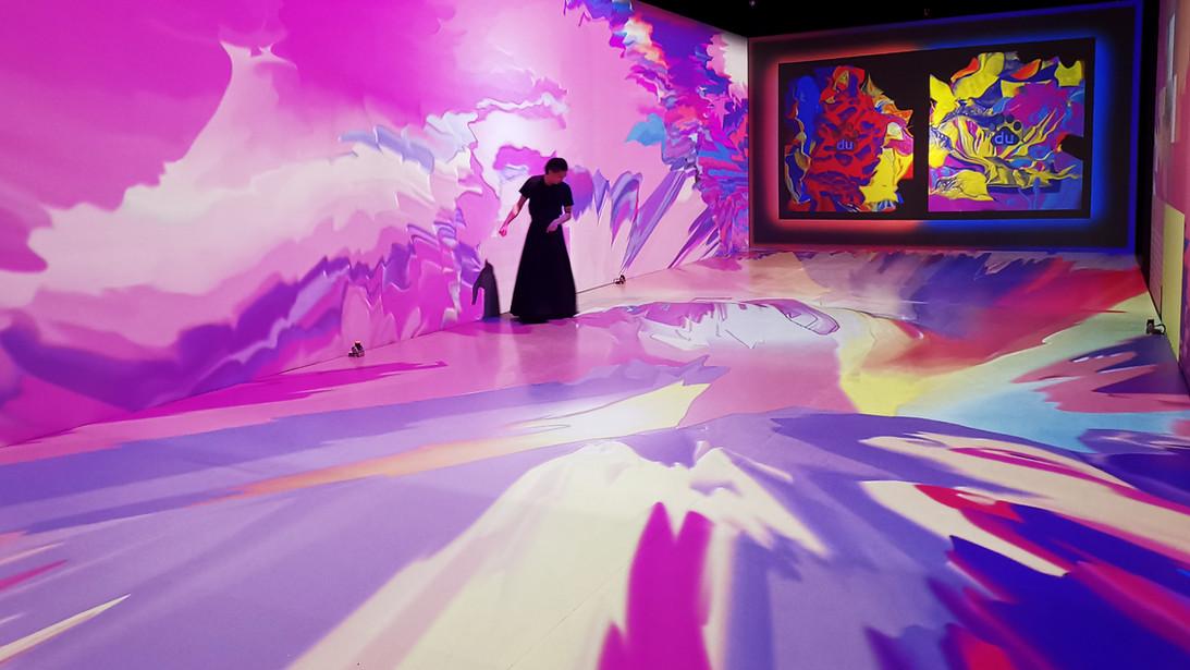 'Animistic Imagery ' Baidu AI immersive interactive exhibition