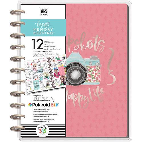 Happy Memory Keeping Undated 12-Month Big Planner - Painted Memories
