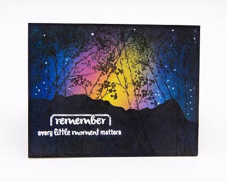 تذكر كل لحظة مهمة