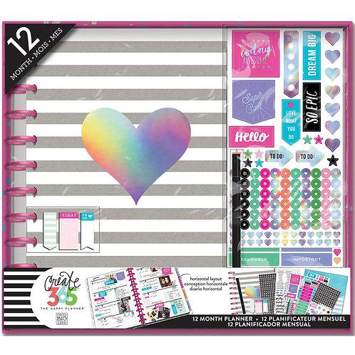 Happy Planner 12 Month Box Kit - Rainbow Foil