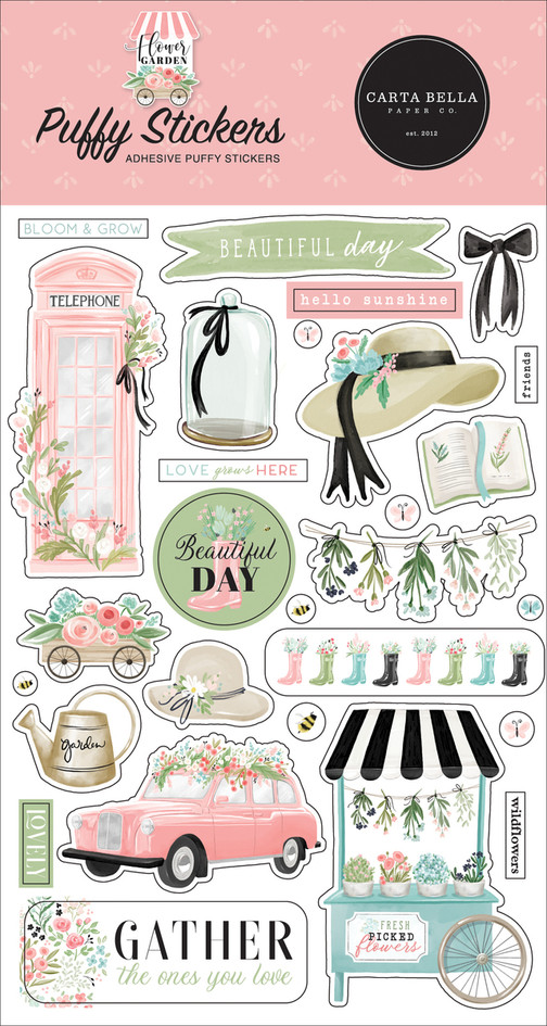 CBGA130066_Flower_Garden_Puffy_Stickers_