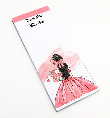 Roses Girl NoteBook