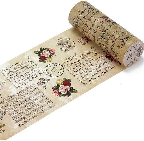 Washi Tape Vintage Floral