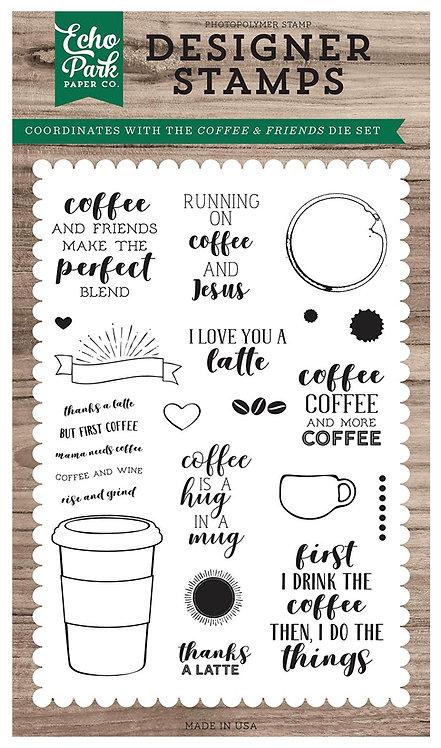 Coffee & Friend Stamp