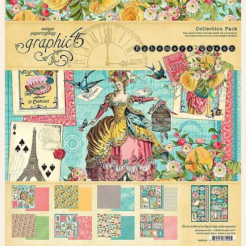 Ephemera Queen 12x12 Collection Pack