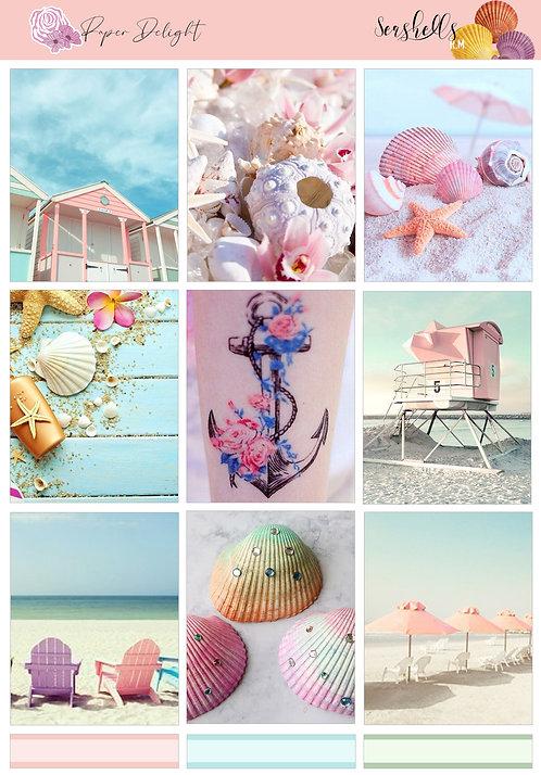 Seashells Weekly Stickers