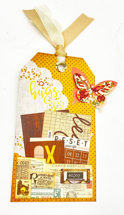 Tags or accessories for Junk Journal 10