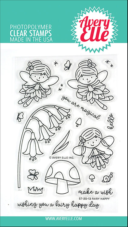 Fairy Happy Clear Stamps
