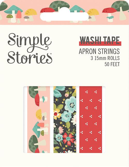APRON STRINGS - WASHI TAPE