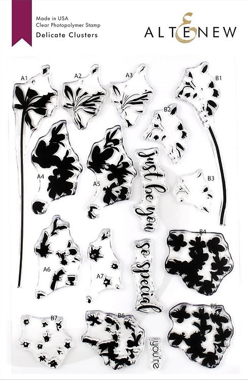 Delicate Clusters Stamp & Die Bundle